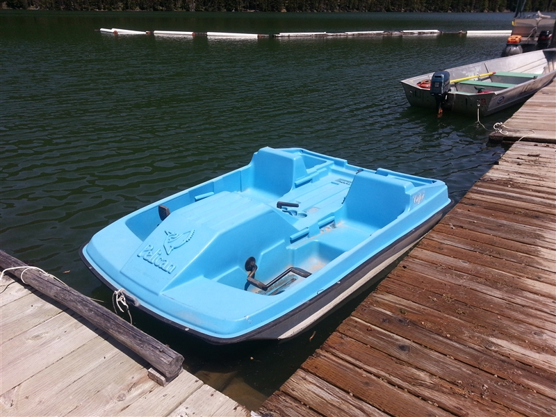Let The Kids Enjoy Lake From A Paddle Boat