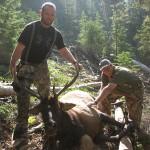 Proud hunters